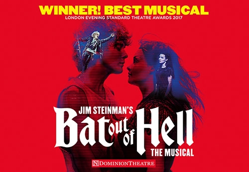 Bat Out Of Hell Theatre Vouchers   Show and Dinner Gift Voucher Package for Two